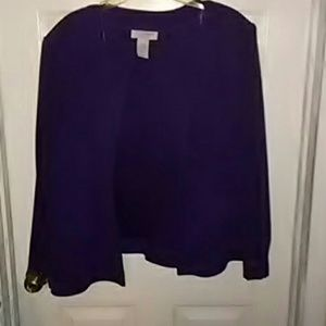 Purple 3 piece suit